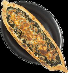 Pizza Espinaca con Queso