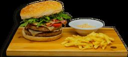 Pinche Hamburguesa de Sirloin (150 gramos)