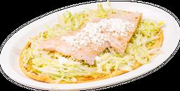 Huarache con Chuleta