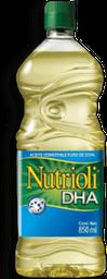 Aceite Comestible Puro De Soya - Nutrioli - Botella 850 mL
