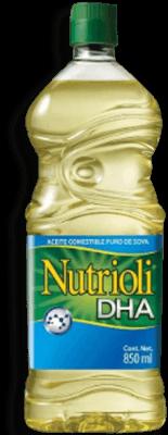 Aceite Comestible Nutrioli de Soya 850 mL