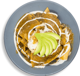 50 % OFF Chilaquiles del Chamán GF