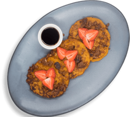Pancakes de Camote