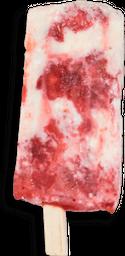 Paleta de Queso con Fresa
