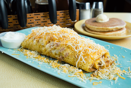 Specialty Cheesy Western Omelette