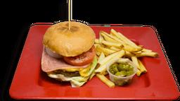 Hamburguesa de Arrachera