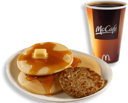 McTrío® Hotcakes con Salchicha