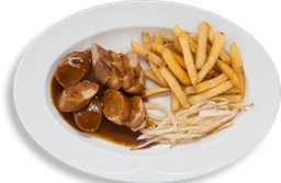 Currywurst Platillo Alemán