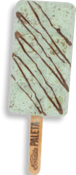4 Paletas Menta - Chocolate