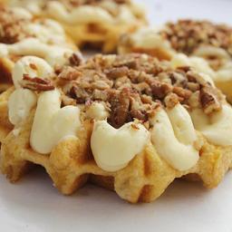 Waffle con Zanahoria