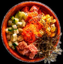 Poke Tuna Salmón Mix