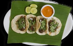Tacos de Barbacoa de Res