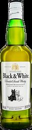 Whisky Black and White 700 mL