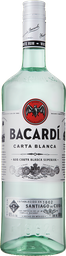 Ron Bacardí Carta Blanca Superior 980 mL