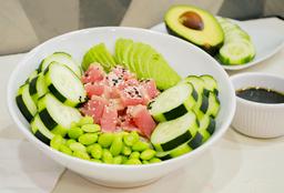 Tuna Bowl + Agua del Día