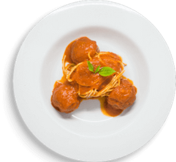 Combo Spaghetti e Polpette Napoletane
