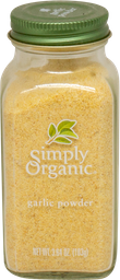 Ajo En Polvo Simply Organic 103 g
