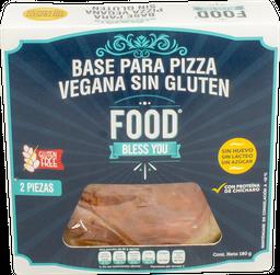 Base Para Pizza Vegana 180 g