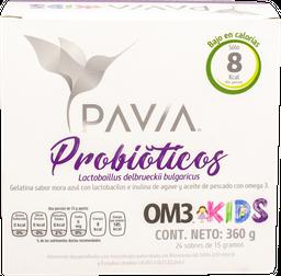 Probioticos Pavia 2Om3 Kids 360g 24 Sobres