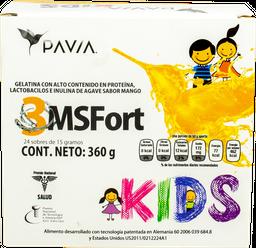 Probioticos Pavia 3Msfort Kids 360g 24 Sobres