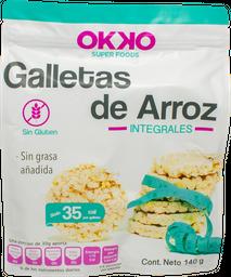 Galleta De Arroz Con Quinoa Okko 140 g