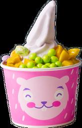 Helado de Yogurt Mediano con Toppings