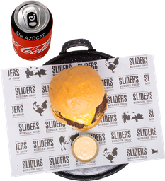 Envío Gratis: Hamburguesa Original +Papas y Coca-Cola Sin Azúcar
