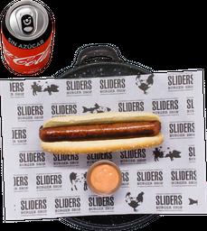 Envío Gratis: Hot Dog Original + Papas y Coca-Cola Sin Azúcar