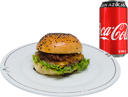 Envío Gratis: Hamburguesa Hendrix + Coca-Cola Sin Azúcar