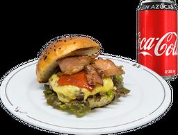 Envío Gratis: Hamburguesa Barrett + Coca-Cola Sin Azúcar