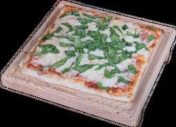 Pizza de Doble Queso con Epazote