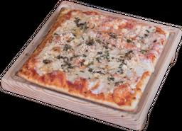Pizza de Queso Parmessano con Orégano