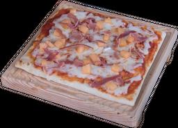 Pizza de Jamón Serrano con Melón