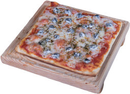 Pizza de Queso de Cabra a las Finas Hierbas
