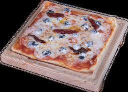 Pizza de Queso de Cabra con Jitomate