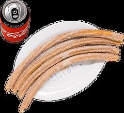 Envío Gratis: 4 Churros + Coca-Cola Sin Azúcar
