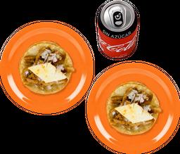 Envío Gratis: 2x1 Taco al Pastor + Coca-Cola Sin Azúcar