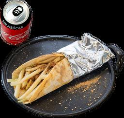 Envío Gratis: Shabbwarma + Coca-Cola Sin Azúcar