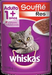 Alimento Para Gato Whiskas Souffle Res 85 g