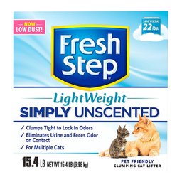 Arena Para Gato Fresh Step Ligth Weight 6.98 Kg