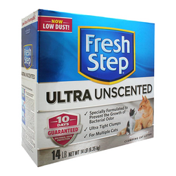Arena para Gato Fresh Step Ultra Unscented 6.35 Kg