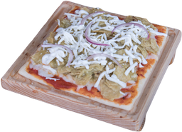 Pizza de Chilaquiles