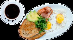 Orden de Huevos + Jugo Freso