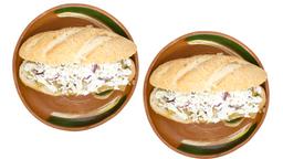 2x1 Torta Sencilla de Chilaquiles
