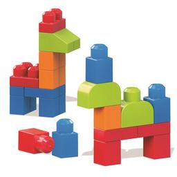 Bloques Mega Bloks Vamos a Construir 40 U