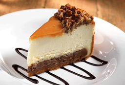 Caramel Fudge Cheesecake