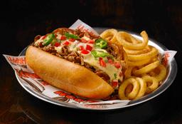 Texas Cheesesteak Sandwich