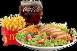 McTrío® Mediano Ensalada con Pechuga Crispy