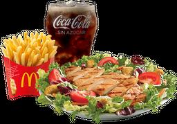 McTrío® Mediano Ensalada con Pechuga Grill