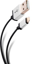 Cable Elite tipo cordón USB a lightning, de 1 m
